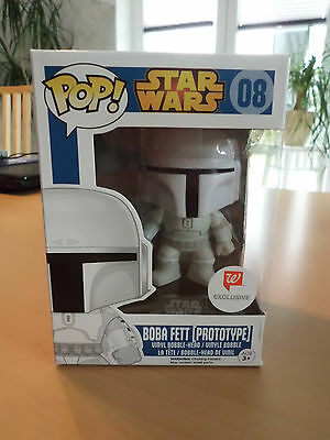 Funko POP! Star Wars BOBA FETT (PROTOTYPE) Nr.08 Walgreens Exclusiv NEU