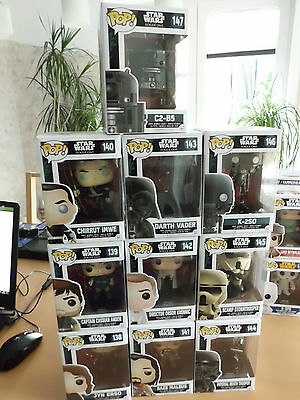 Funko POP! Star Wars 138-147 Rogue One SET Exclusive! NEU/ungeöffnet!