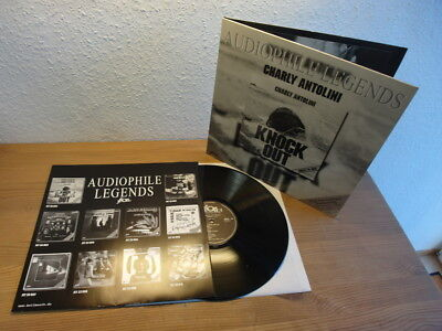 Charly Antolini / Knock Out Limited Edition German Jeton Records In Mint