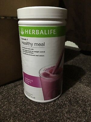 Herbalife Formula 1 Shake raspberry & blueberry flavour