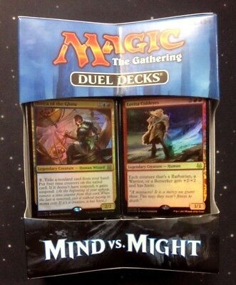 Mtg Mind Vs Might Duel Decks - Magic The Gathering - Brand New And Sealed
