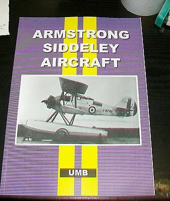 ARMSTRONG WHITWORTH AIRCRAFT inc ENGINES AIRCRAFT OF THE BRITISH EMPIRE REPRINT