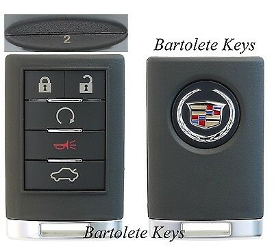 OEM Fob Keyless Entry Remote #2 for 2008 Cadillac CTS (Regular Ignition Models)