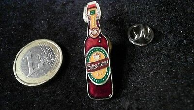 Bier Beer Pin Badge Wallersteiner Flasche