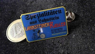 Bier Beer Pin Badge Lahnsteiner Radler