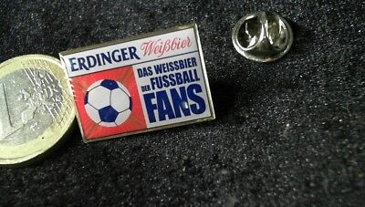 Bier Beer Pin Badge Erdinger Fussball Bundesliga