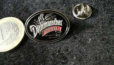 Bier Beer Pin Badge Dithmarscher Dunkel