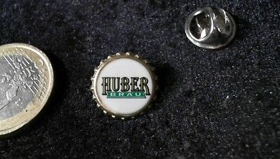 Bier Beer Pin Badge Huber Bräu