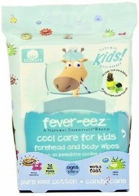 Natural Essentials fever-eez, Candy Cane, 32-Count