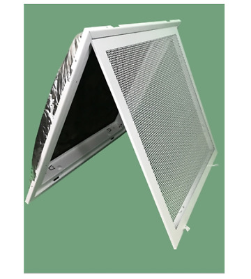 "Filter Back T Bar Ceiling Lay In Return Air 24"" X 24"" Grill"