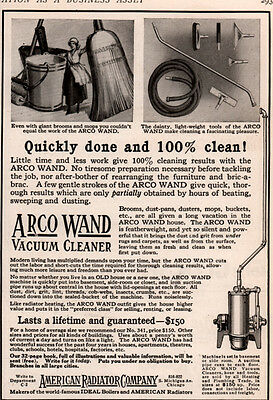 Ad Lot Of 7 American Radiator Co Arco Wand Vacuum Cleaner Ads Central Vac