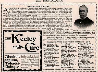 Ad Lot Of 3 Early 1900 's Ads Keeley Treatment Armour No Prison Opium Alcohol