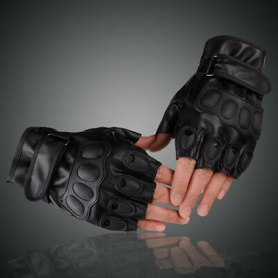 AU Outdoor Sports Military Hunting Cycling Half Finger Fingerless Gloves Gym