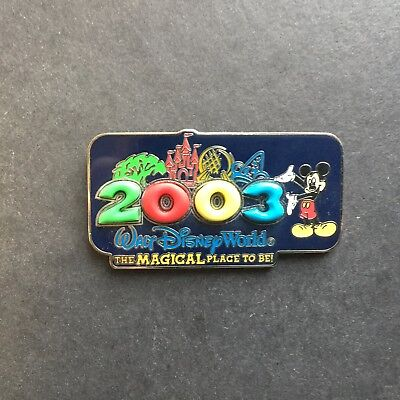 WDW - 2003 The Magical Place To Be Free D Disney Pin 20718