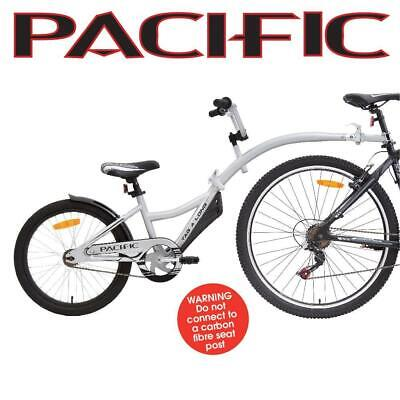 Pacific Tag A Long Bike Trailer Silver