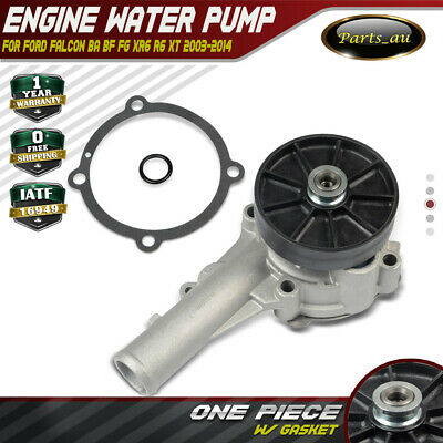 Water Pump W/ Pulley for Ford Falcon BA BF FG XR6 R6 XT G6E 11/2003-2014 4.0L