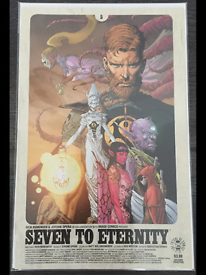 Seven To Eternity #5 cover A Remender/Opena first print NM