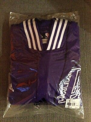 Big and Tall Adidas LA Lakers Warm Up Jacket Tall Purple NEW Tall Mens