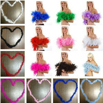 Fluffy Flower Dressup Wedding Party Home Decor Feather Boa Craft Costume