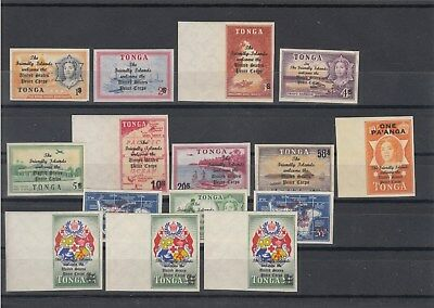 Tonga: 1967 US Peace Corps in Tonga set of 15. MUH/MNH.Going Cheap