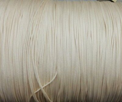 25 YARDS : 2.0MM  WARM ALABASTER TRAVERSE CORD for Vertical Blinds & Draperies