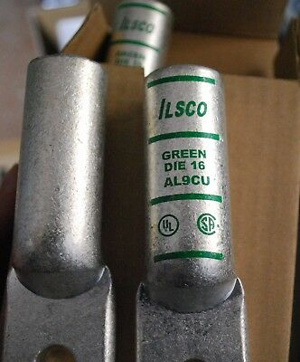 ILSCO 2ACL-400 Lug 2-Hole Aluminum Compression Connectors 400 Kcmil