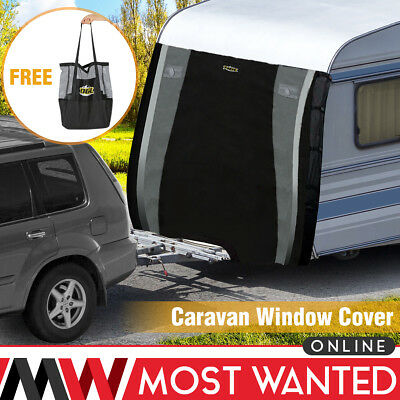 Caravan Front Towing Cover Protector Universal Protection Buckle Guards Bag