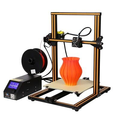 Creality 3D CR-10 DIY 3D Printer 300*300*400mm Printing Size 1.75mm 0.4mm Nozzle