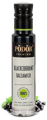 Podor Premium Vinegar Blackcurrant Balsamico Natural and Clear  250ml