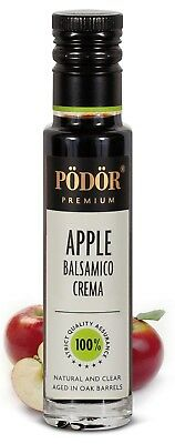 Podor Premium Vinegar Apple Balsamico Crema 250ml Nature and Clear