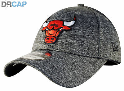 New Era NBA Chicago Bulls Shadow Tech 9Forty Grey adjustable Baseball Cap