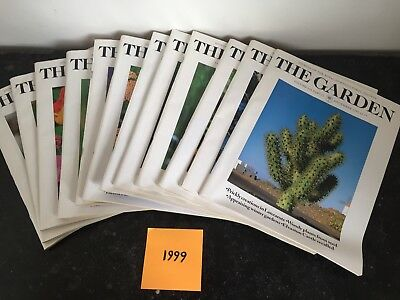 RHS The Garden Magazine - 24 Issues - Complete 1999 & 2000