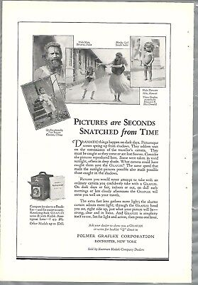 1927 Graflex camera advertisement, GRAFLEX Series B, Kodak
