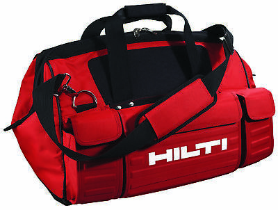 "New Hilti Heavy Duty Large 22"" Tool Bag Multiple Pockets - 2008518"
