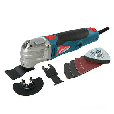 Silverline 280W Keyless Multi Tool Function Oscillating Sander Cutter Scraper