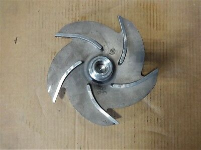 "Goulds 5-Vane Pump Impeller, 10"", CN-7M, #56381"