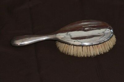 sterling silver hair brush Birmingham dated to 1921
