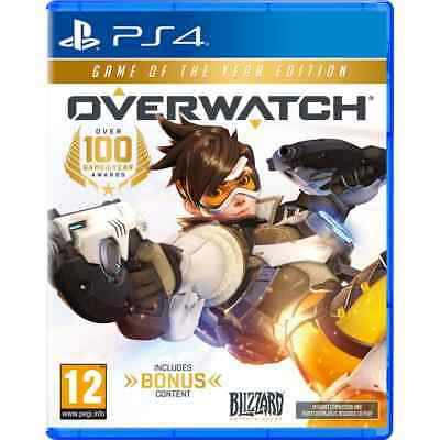 Overwatch: Game Of The Year For PlayStation 4