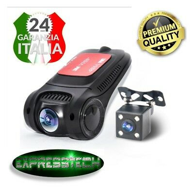 Dash Cam/Dvr  auto - Full HD 1080p 5mpx - Visione notturna - Motion detection -