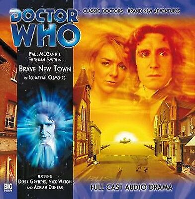Paul McGann 8th DOCTOR WHO Series #2.3 BRAVE NEW TOWN - Big Finish Audio CD