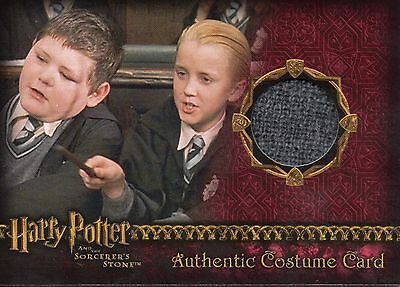 HARRY POTTER Sorcerer's Stone Slytherin Students Authentic Costume Card #151/165
