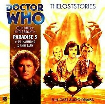 6th Doctor Who Big Finish Audio Drama CD The Lost Stories #1.5 PARADISE 5
