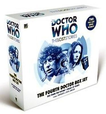 4th Dr DOCTOR WHO Big Finish Audio The Lost Stories (Tom Baker) 5 CD set (NEW)