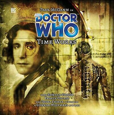 DOCTOR WHO Big Finish Audio CD #80 - TIME WORKS Paul McGann (Factory Sealed)