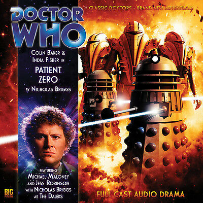Doctor Who Big Finish Audio CD #124 - PATIENT ZERO (Factory Sealed - New) Baker