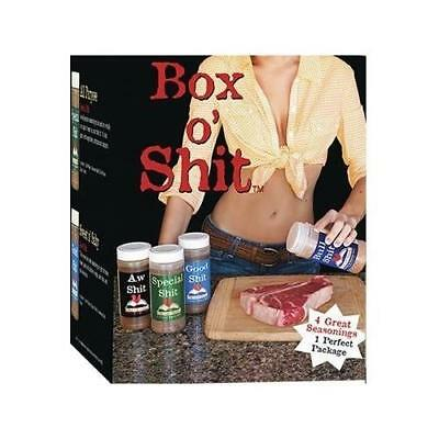 Special Sh!T Pack of 4 Different Seasonings (1 each of Bull, Special, Good & AW)