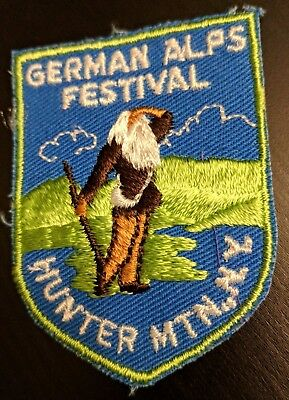 New Vintage Hunter Mountain NY Patch German Alps Festival (New Old-Stock) RARE