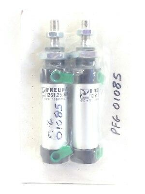 PNEUMAX 1261.25.30.M AIR CYLINDERS -5°C to +70°C   10bar MAX   2-PK (A831)