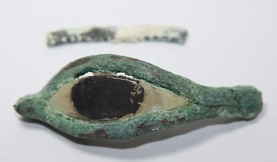 Ancient Egyptian Bronze Eye Late Period c.662 BC.