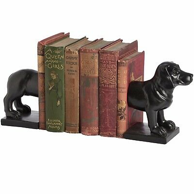 Charming Hill Interiors Daschund Dog Bookends. Home/Office/New Gift/Present NEW!